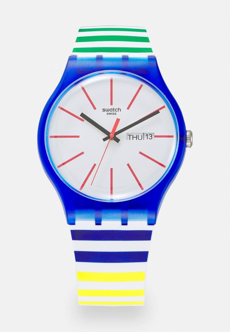 Swatch - HOME STRIPE HOME - Zegarek - multicolor
