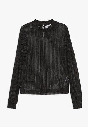 MANNY - Long sleeved top - black