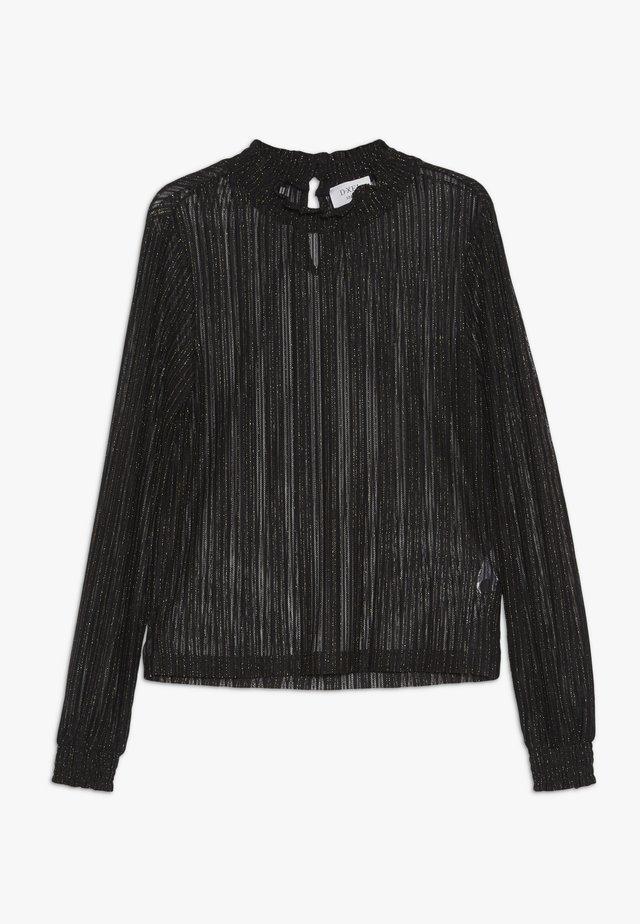 MANNY - T-shirt à manches longues - black