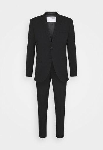 SLHSLIM MYLOLOGAN CROP SUIT - Kostuum - black