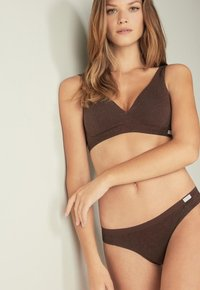 Intimissimi - Thong - i - brown blend - 1