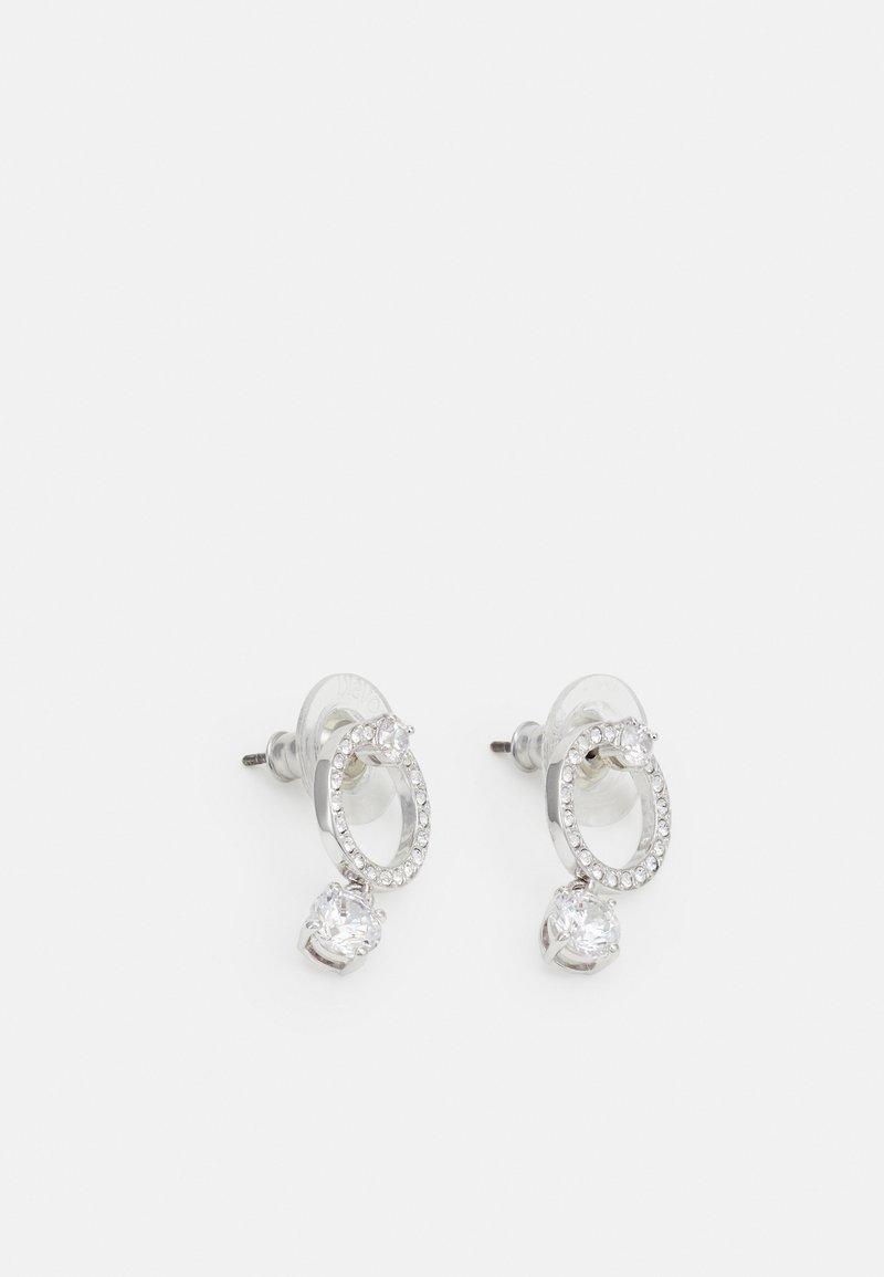 Swarovski - ATTRACT - Earrings - silver-ccoloured
