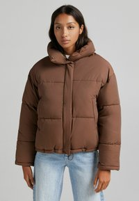 Bershka - Light jacket - brown - 0