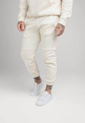 ELASTIC CUFF PANT - Jogginghose - ecru