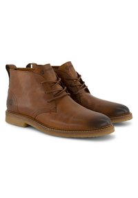 Travelin - Lace-up ankle boots - cognac - 13