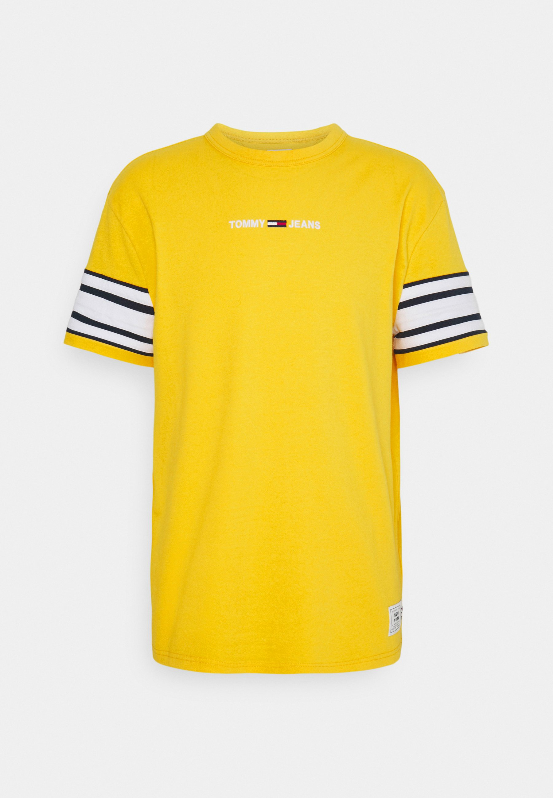 Men CONTRAST SLEEVE DETAIL TEE - Print T-shirt
