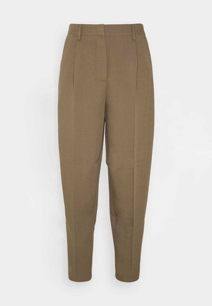 PARI DAGNY - Trousers - earth brown