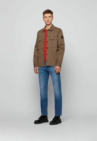 BOSS - MAINE - Straight leg jeans - blue - 1