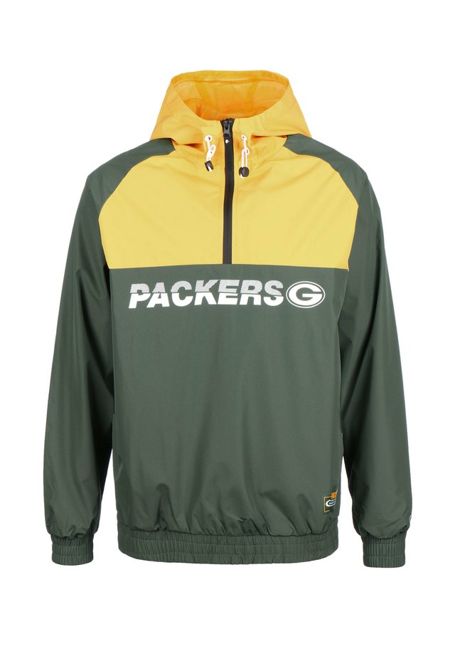 NFL GREEN BAY PACKERS WINDBREAKER HERREN - Cortaviento - dark green