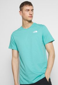The North Face - REDBOX CELEBRATION TEE - Triko s potiskem - lagoon - 3