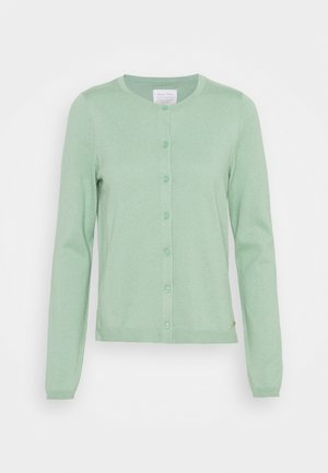 Cardigan - granite green