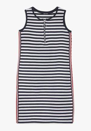 RUNDHALS - Jersey dress - dunkelblau