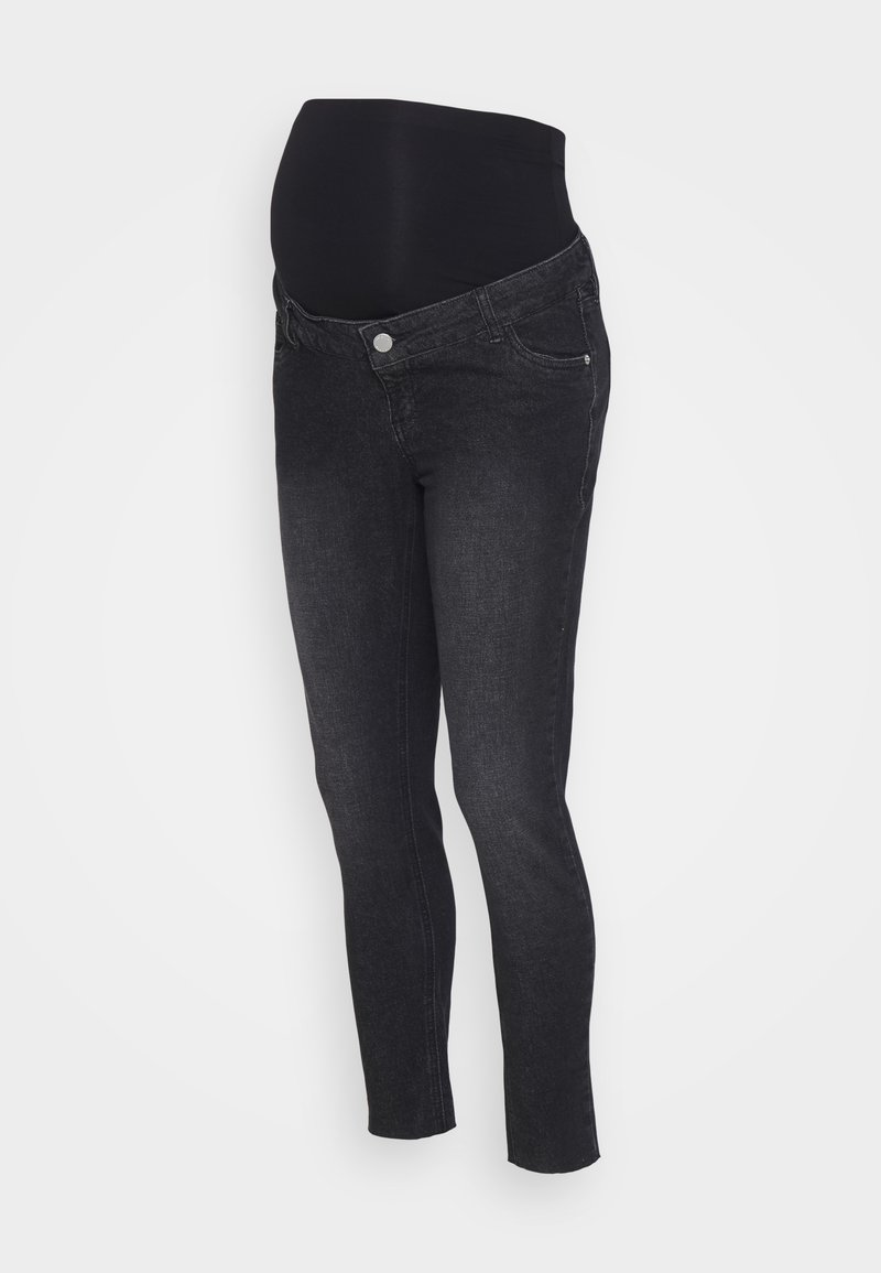 MAIAMAE - Jeansy Skinny Fit - washed black