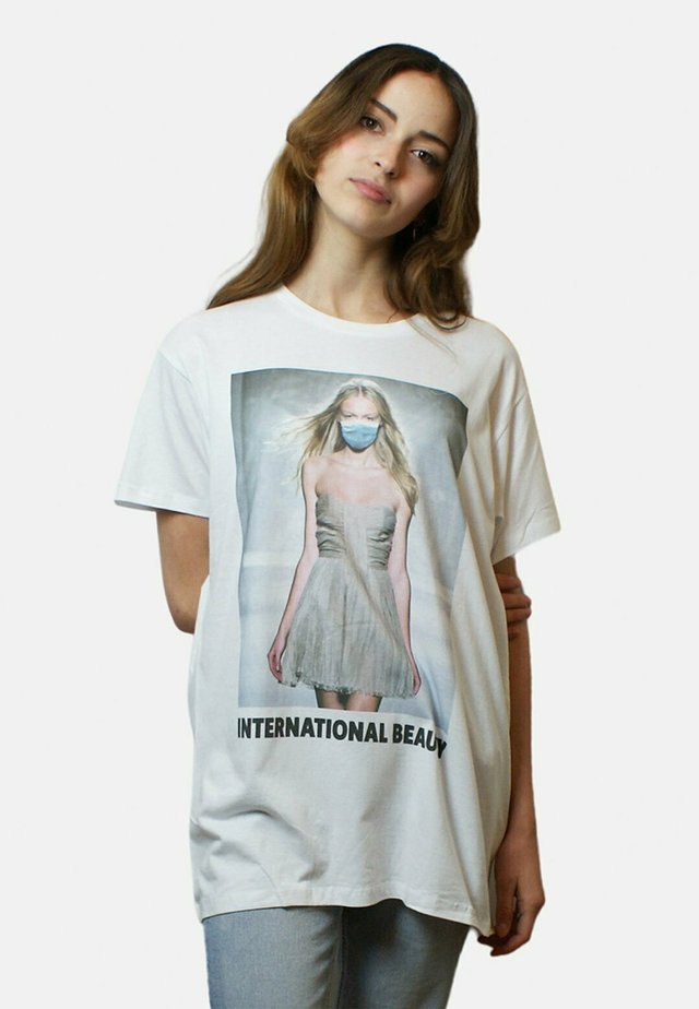 INTERN - T-shirt imprimé - white