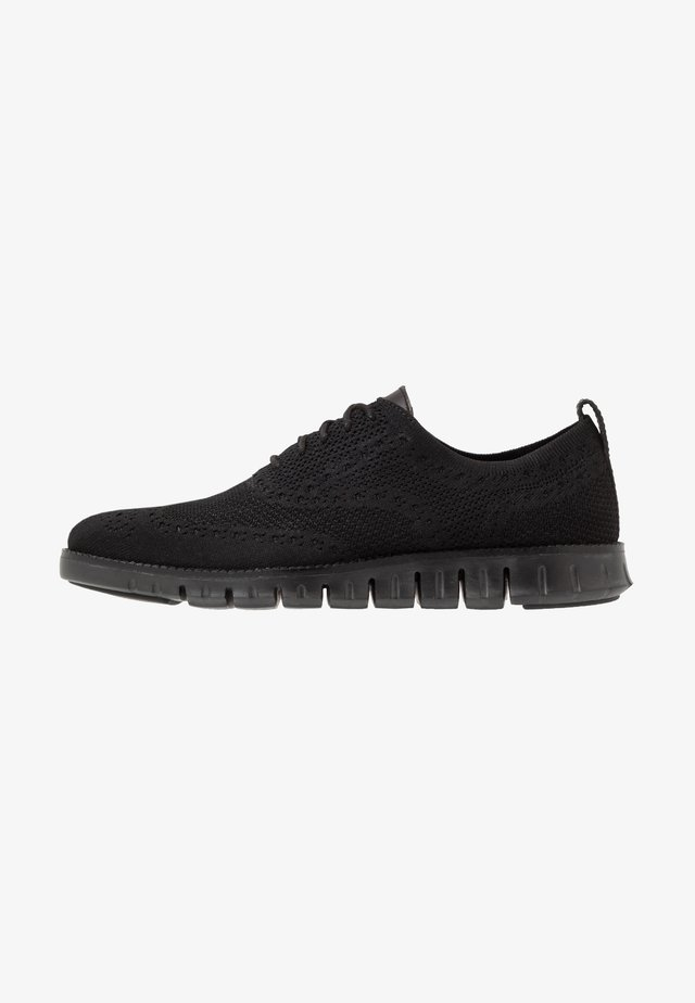 ZEROGRAND STITCHLITE OXFORD - Chaussures à lacets - black