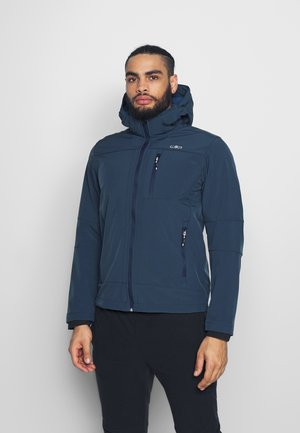 MAN JACKET ZIP HOOD - Soft shell jacket - cosmo