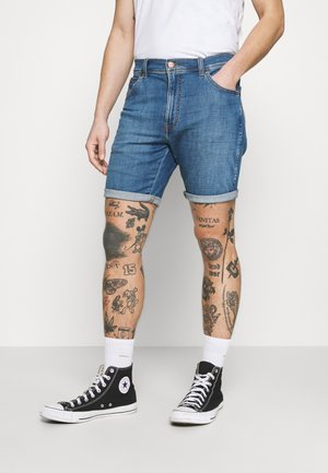 TEXAS - Denim shorts - lite blue