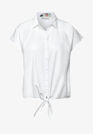 Button-down blouse - weiß