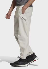 adidas Performance - TERREX HIKERELAX TROUSERS - Trousers - grey - 3