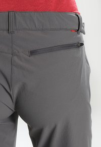 Vaude - WOMEN'S FARLEY STRETCH ZO T-ZIP PANTS 2-IN-1 - Trousers - iron - 5