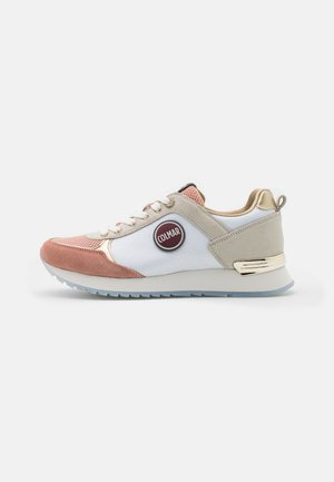 TRAVIS PRIME - Baskets basses - offwhite/dusty rose