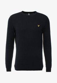 Lyle & Scott - Crew Neck Jumper - Stickad tröja - dark navy - 3