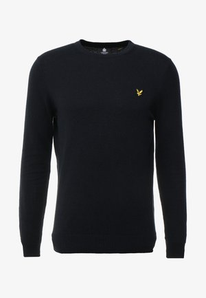 Crew Neck Jumper - Svetr - dark navy
