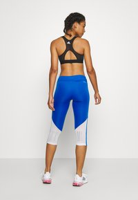 adidas Performance - OWN THE RUN - Tights - glow blue - 2
