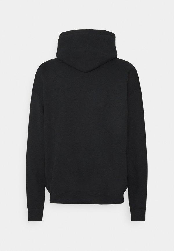 Mennace NIRVANA PSYCHEDELIC HOODIE - Bluza z kapturem - black/czarny Odzież Męska OERG