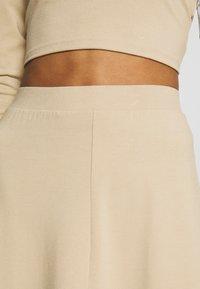 Monki - BELINDA SKIRT - A-line skjørt - beige medium dusty - 4
