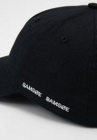 Samsøe Samsøe - ARIBO UNISEX - Cappellino - black - 3