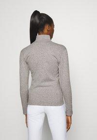 J.LINDEBERG - FLORA MID LAYER - Fleece jacket - stone grey melange - 2