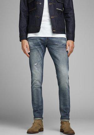 GLENN ROYAL - Jeans slim fit - blue denim