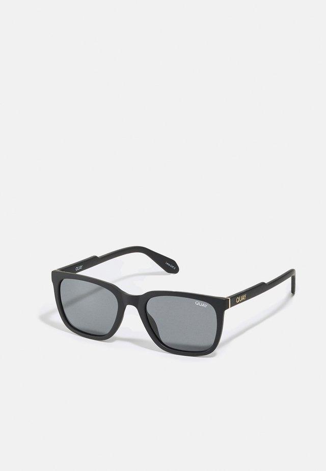 LEGACY - Okulary przeciwsłoneczne - matte black/smoke