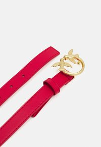 Pinko - LOVE BERRY SMALL SIMPLY BELT - Ceinture - red - 2