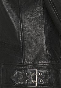 Gipsy - BENNET - Leather jacket - black - 8