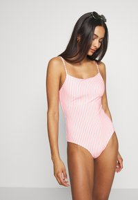 Monki - ALICE SWIMSUIT - Maillot de bain - orange medium - 1