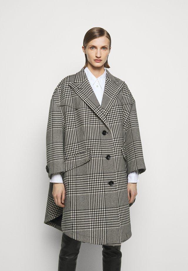 Classic coat - black/grey