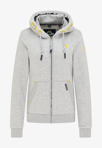 Schmuddelwedda - Zip-up sweatshirt - hellgrau melange - 4