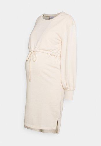 MLZARINA DRESS - Sukienka z dżerseju - ecru