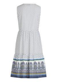 Vera Mont - Day dress - cream/blue - 3