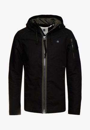 BATT ZIP STRAIGHT - Summer jacket - black