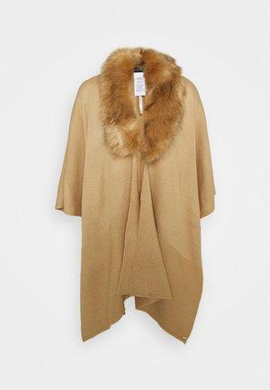 RUANA - Cape - classic camel