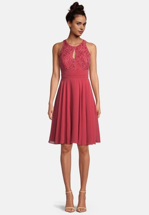 Cocktail dress / Party dress - sweet raspberry