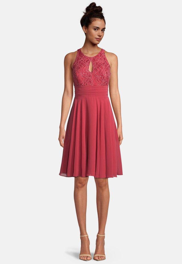 Cocktail dress / Party dress - sweet raspberry