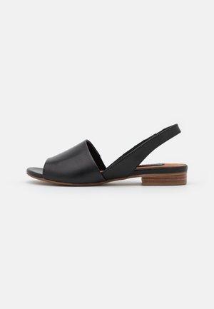 Sandals - glove black