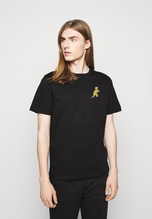 MENS REG FIT DINO SMALL - Print T-shirt - black