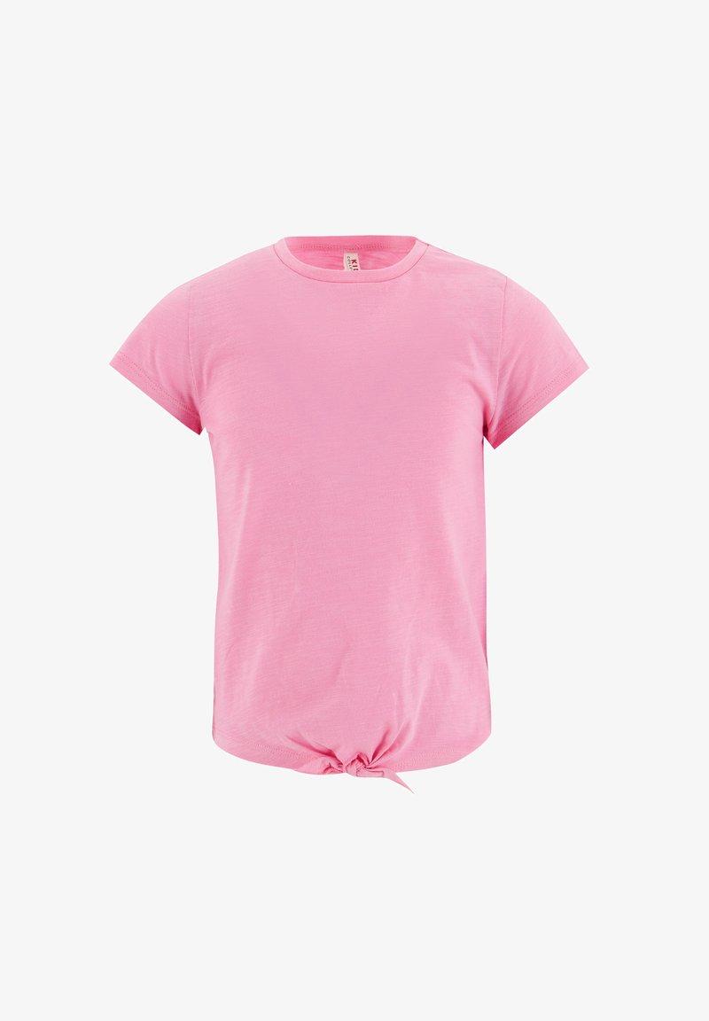 DeFacto - Basic T-shirt - pink