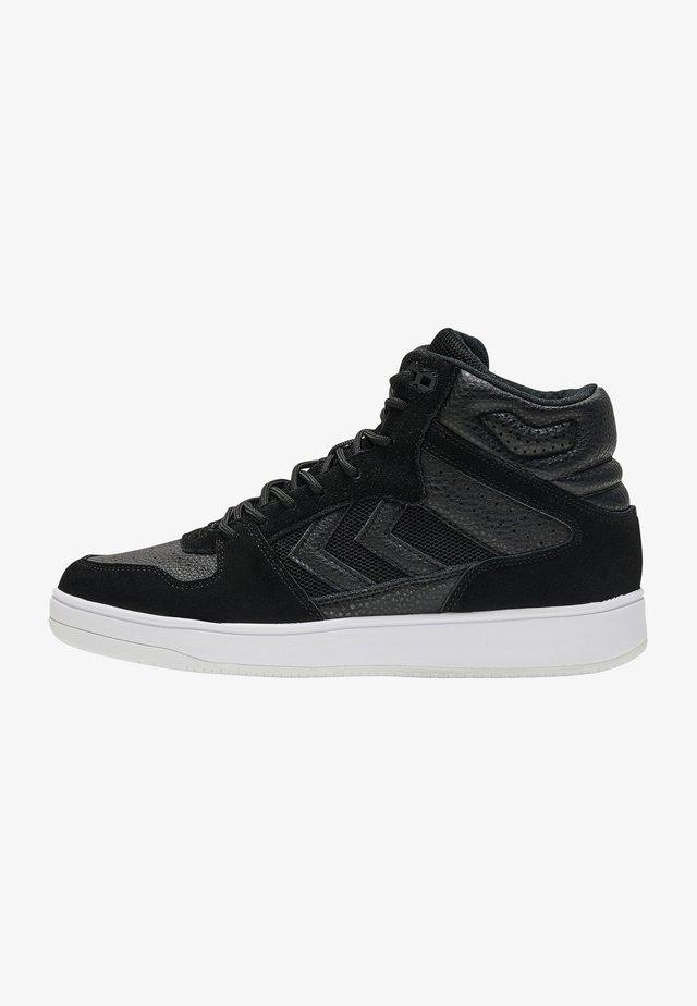 ST POWER PLAY MID - Sneakersy wysokie - black