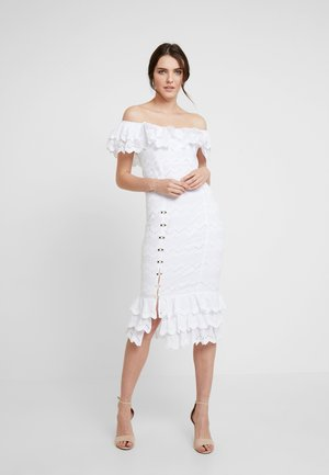 ZIGGY MIDI - Cocktail dress / Party dress - porcelain